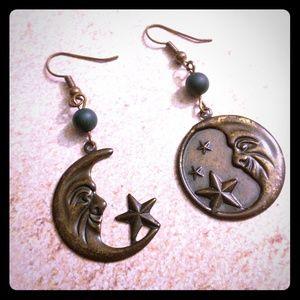 Jewelry - Antique Moon Earrings